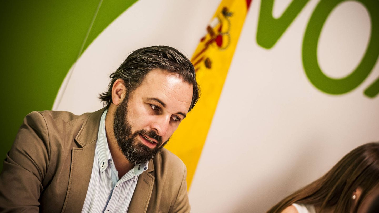 Santiago Abascal, líder de Vox, en una imagen de archivo.