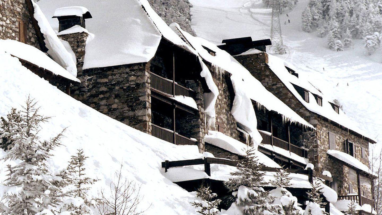 Una imagen de la urbanización La Pleta, donde está ubicada la casa donde pasaba las Navidades la familia real.