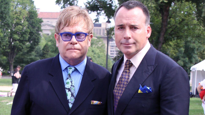 Foto: Elton John y su marido David Furnish (Gtres)