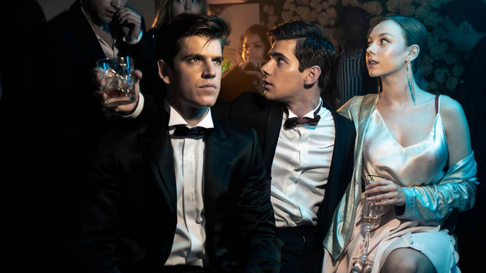 Foto: Imagen promocional de la serie 'Élite'. (Netflix)