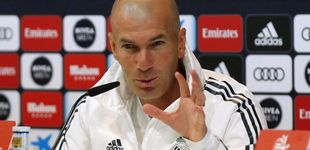 Post de El nepotismo que persigue a Zidane con su hijo Luca en el Real Madrid