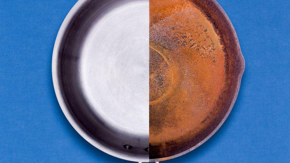 El truco para limpiar cosas oxidadas en cinco minutos