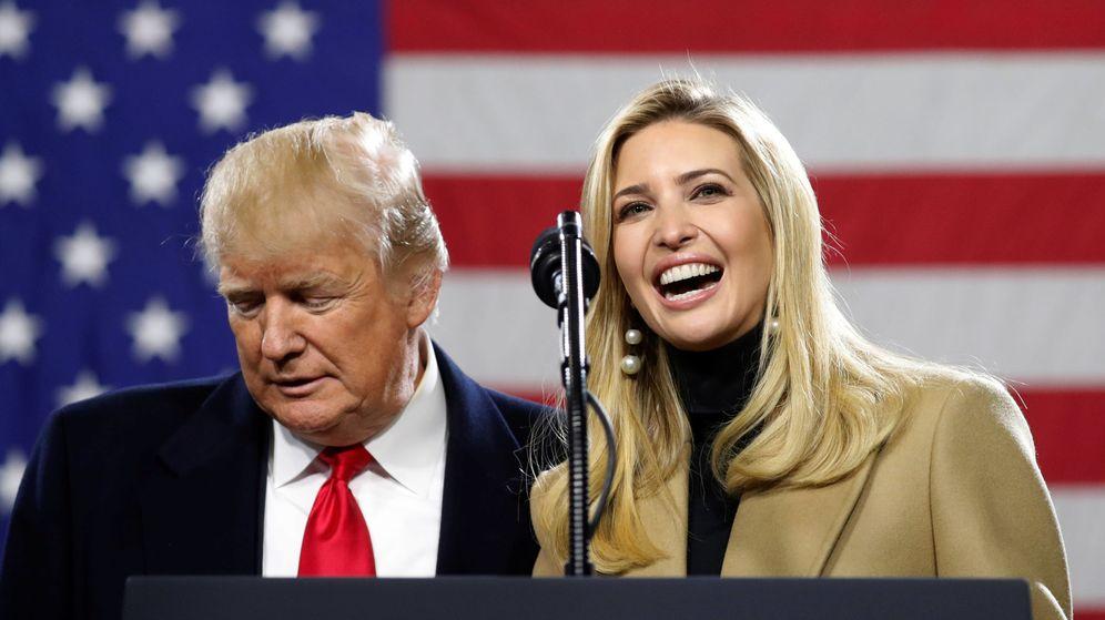 Foto: El presidente de Estados Unidos, Donald Trump, junto a su hija Ivanka. (Reuters)