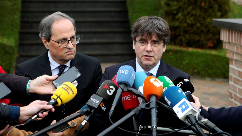 Los 'lobbies' independentistas se reorganizan y pelean por el control político de Cataluña