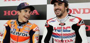 Post de Las confesiones entre Fernando Alonso y Marc Márquez: el Dakar como plato estrella