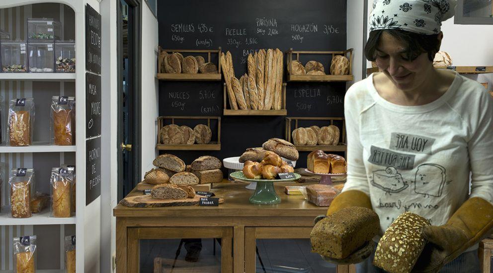 Foto: Beatriz Teresa Anson Balmaseda en su tienda, 'El Horno de Babette'