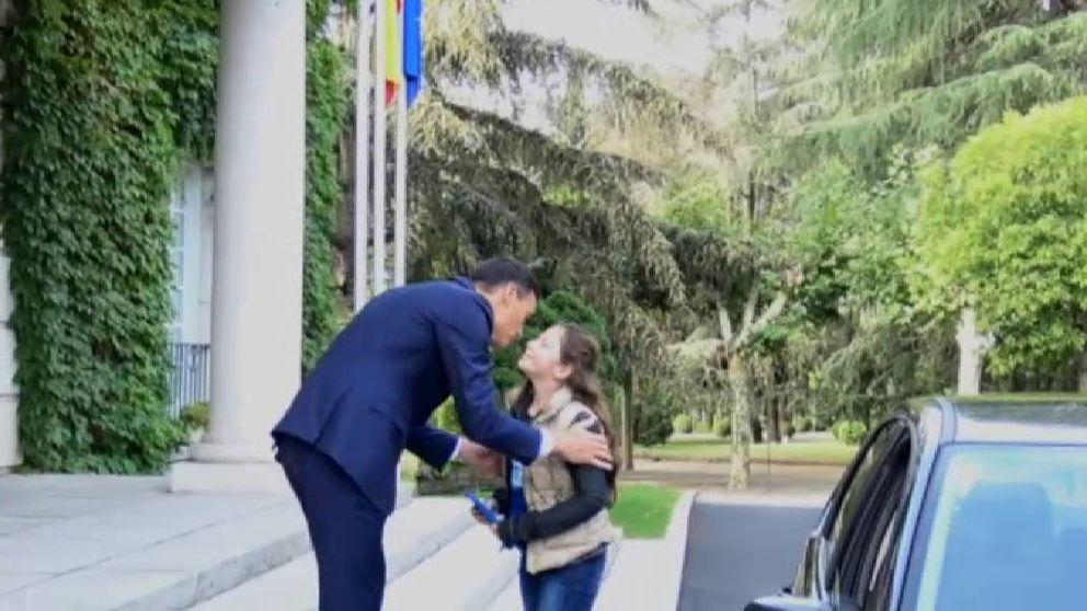 Sánchez 'traspasa la presidencia' a una niña madrileña de nueve años