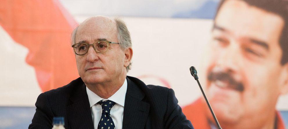 Foto: El presidente de Repsol, Antonio Brufau, en una reciente visita a Venezuela. (EFE)
