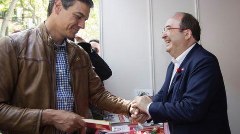 Sánchez e Iceta negocian cómo abrir la reforma de la Constitución antes del 1-O