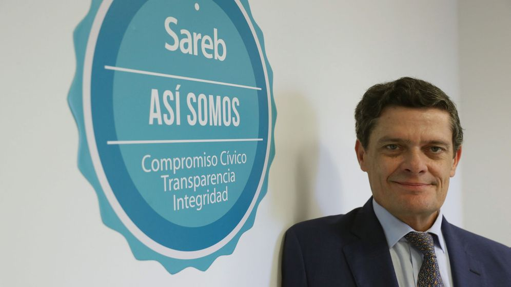 Foto: El presidente de Sareb, Jaime Echegoyen.