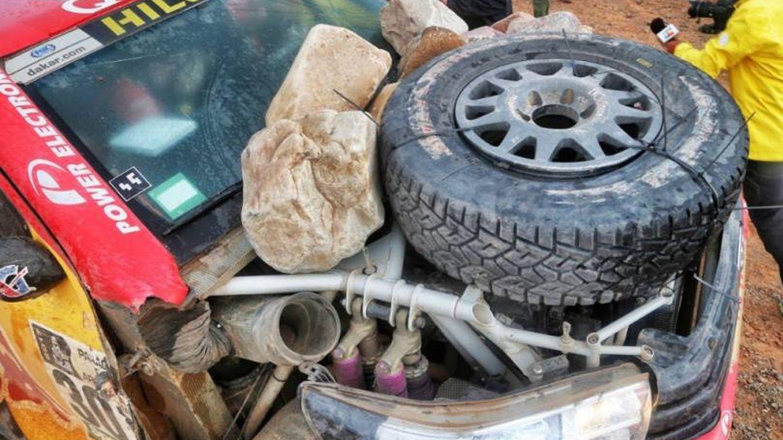 Tres piedras y 'pa lante': el genuino espíritu de supervivencia en el Dakar