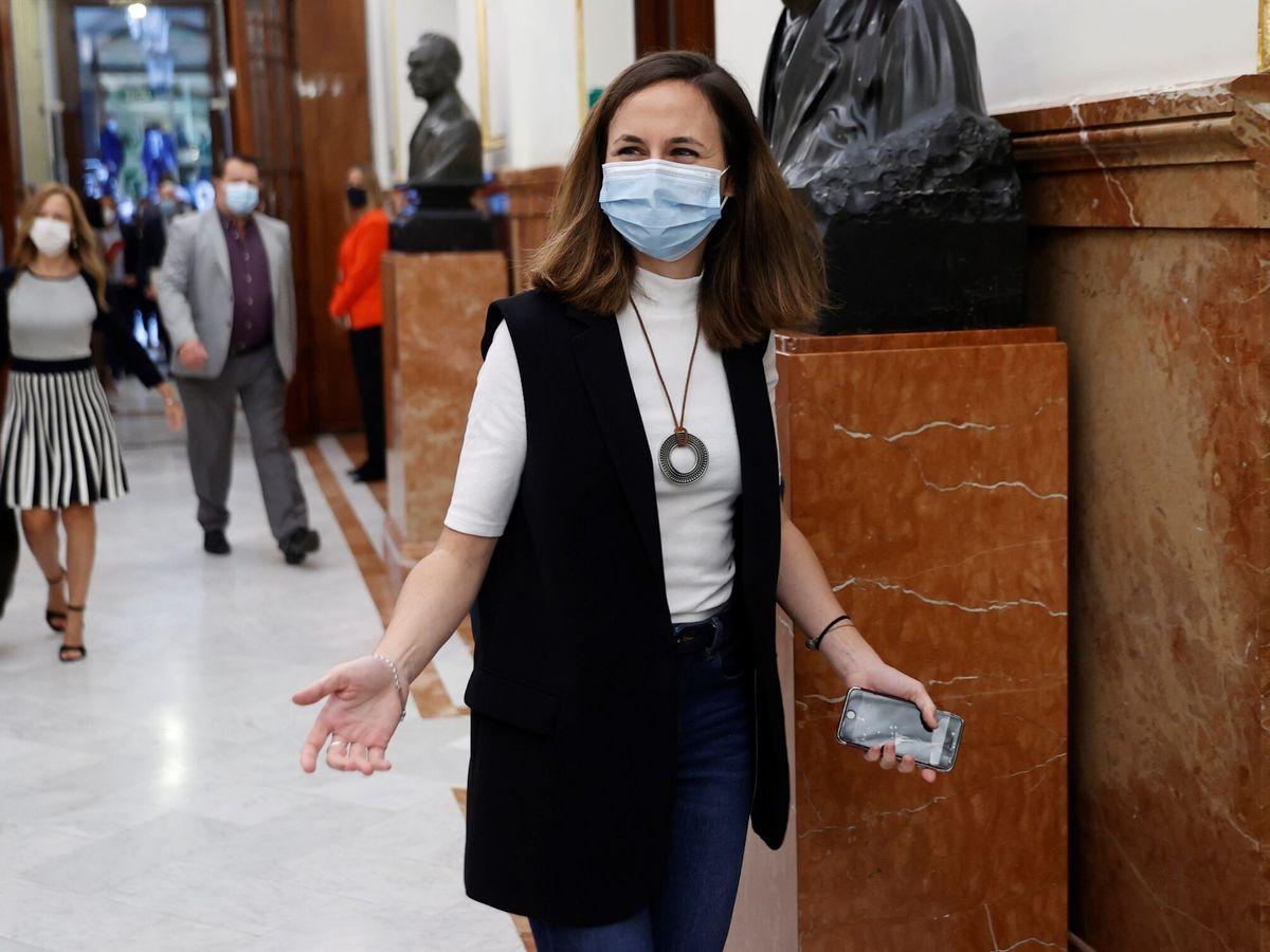Foto:  La ministra de Derechos Sociales, Ione Belarra. (EFE)