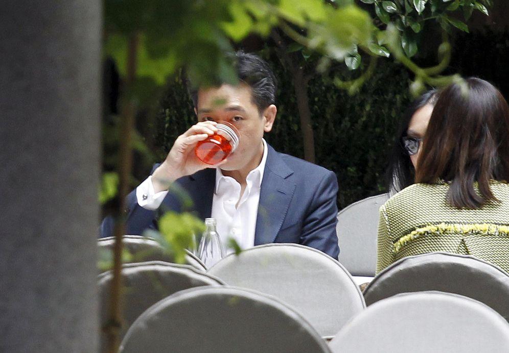 Foto: El empresario tailandés Bee Taechaubol en un restaurante del centro de Milán, el 29 de abril de 2015 (Reuters).