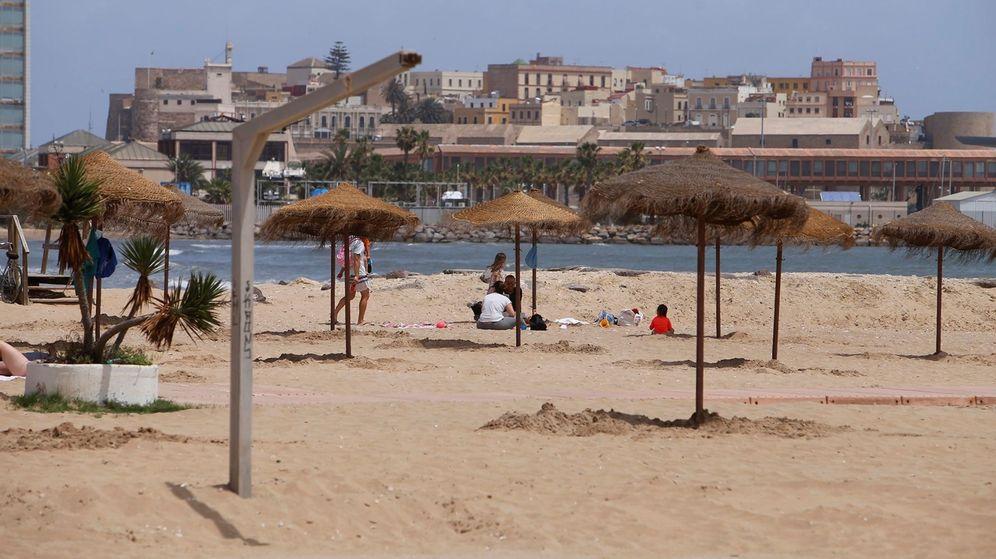 Foto: Una playa de Melilla. (EFE)