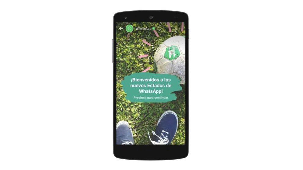 La nueva función de 'estados' de WhatsApp, ya disponible en España