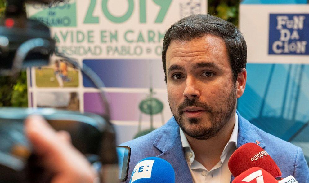 Foto: Alberto Garzón. (EFE)