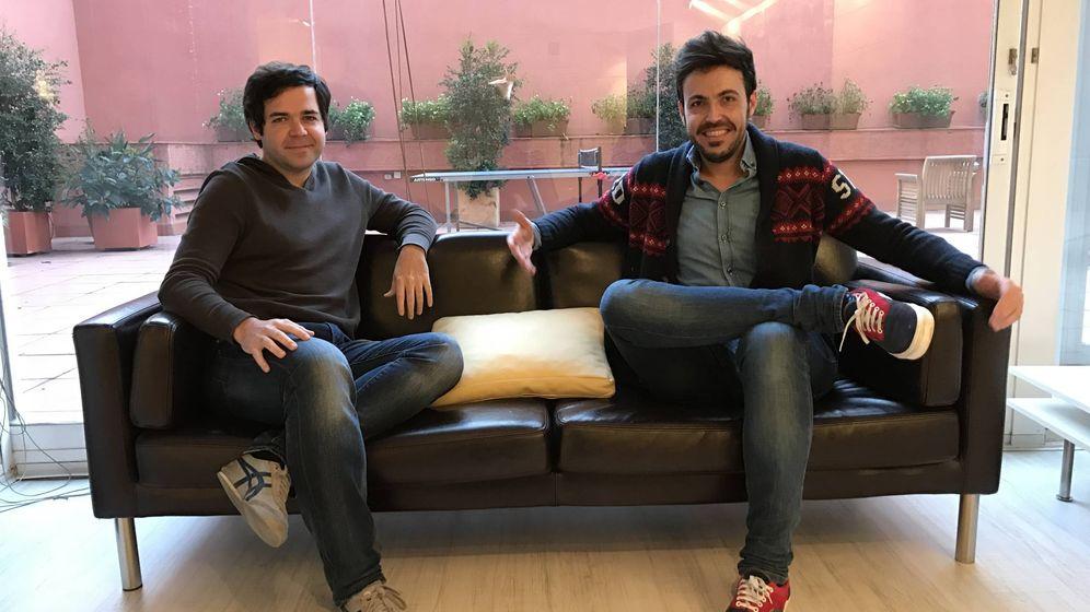 Foto: Álex Tomás y Rubén Lotina, cofundadores de Memondo Network.
