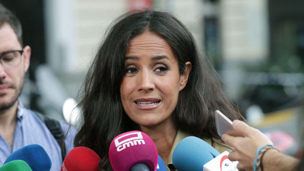 Foto: Villacís, durante una comparecencia ante los medios. (EFE)