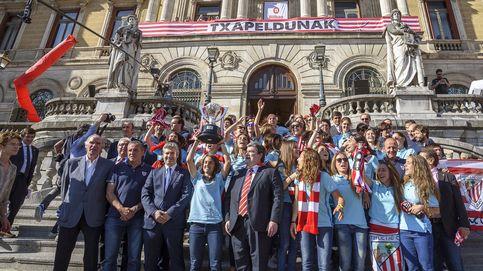 El título de Liga del equipo femenino del Athletic acaba con bronca en Bilbao