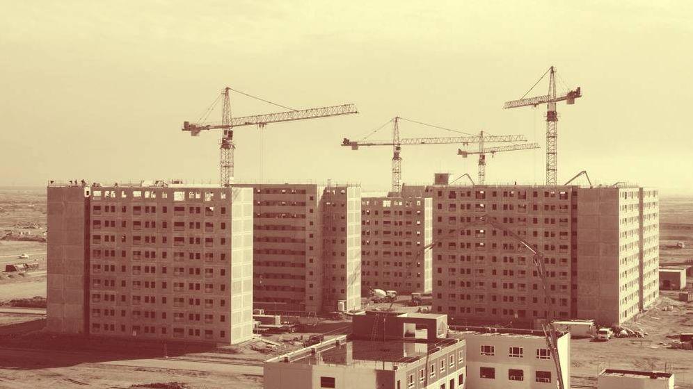 Foto: Vista de una construcción de edificios. (EFE)