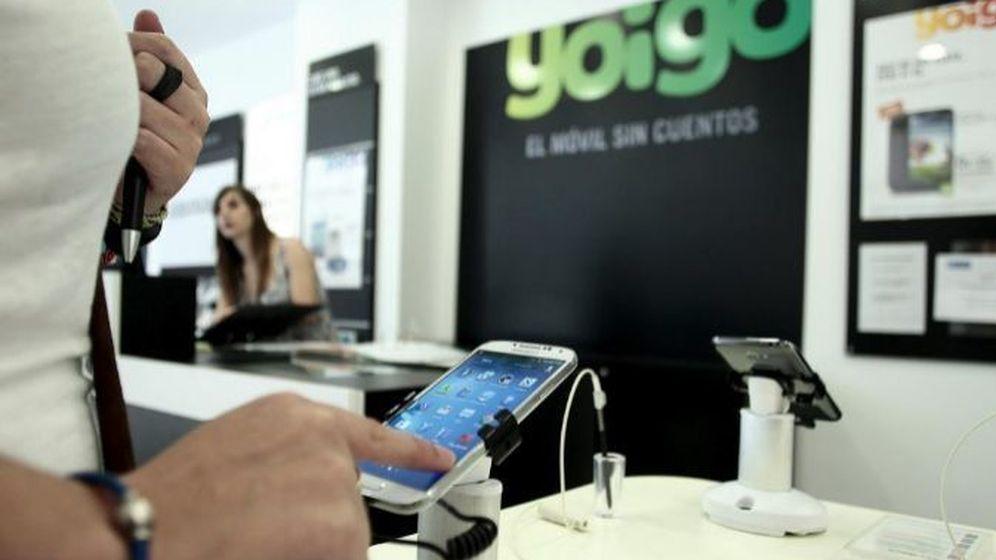 Foto: Operadora de telefonía Yoigo. (EFE)