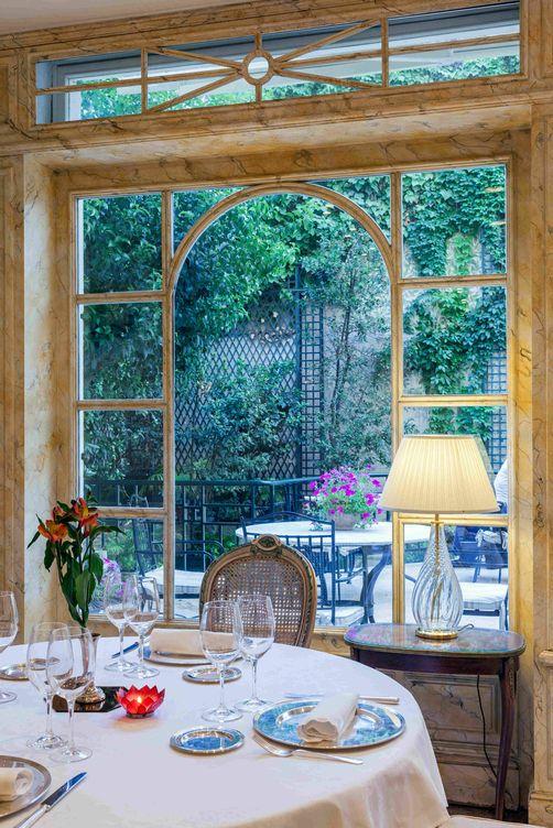 Foto: El Jardín de Orfila no podía ser más romántico.