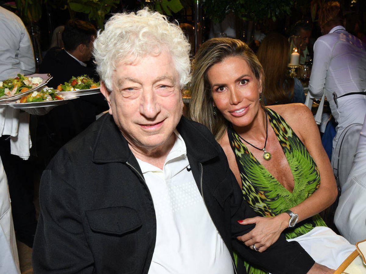 Foto: Avi Lerner y Raquel Bernal, en el festival Cana Dorada. (Getty)