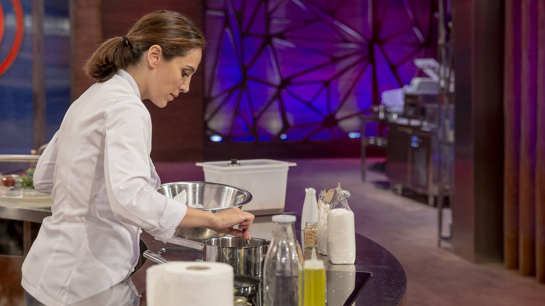 Tamara Falcó, en la final de 'MasterChef Celebrity 4'. (TVE)