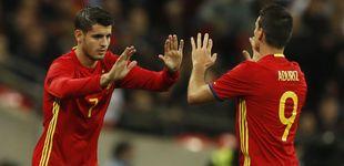 Post de Los problemas se le acumulan a Zidane: Álvaro Morata es baja para el derbi