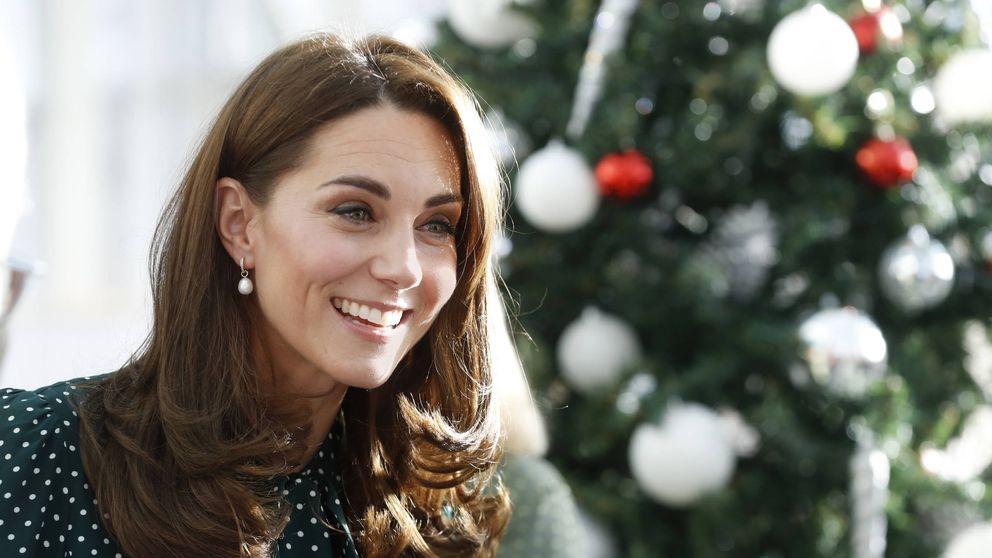 Kate Middleton confirma que los lunares son la moda de este invierno