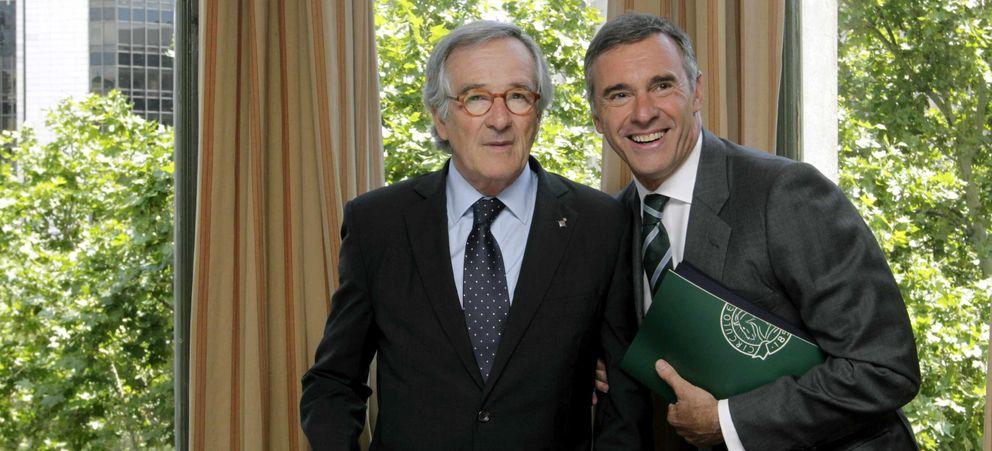 Xavier Trias, alcalde de Barcelona, y Borja García-Nieto (EFE)