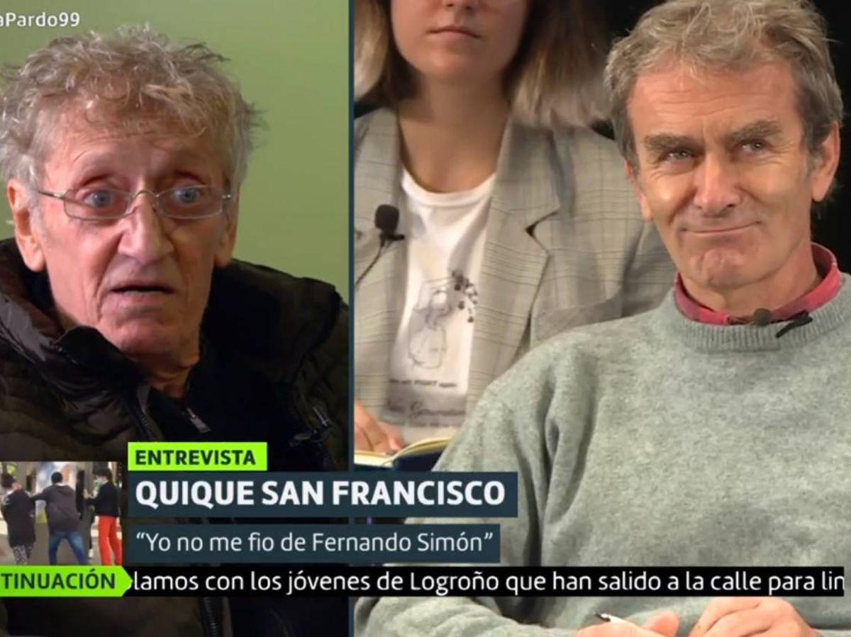 Foto: Enrique San Francisco y Fernando Simón. (La Sexta).