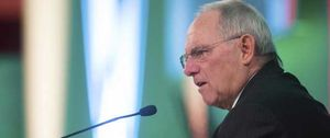 Foto: El ministro de Finanzas alemán asegura que lo peor de la crisis de la eurozona ya ha pasado