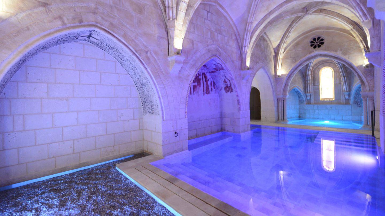 ¿Os imagináis un baño relajante en un monasterio cisterciense? (Foto: Cortesía Castilla Termal)