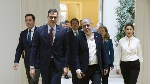 Sánchez prioriza el diálogo social frente al diálogo político