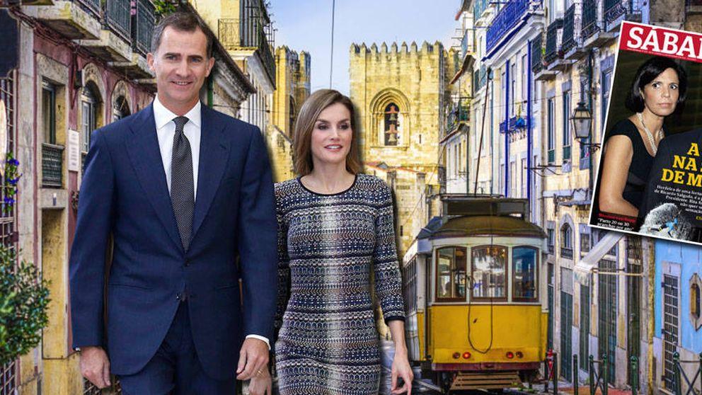 Los Reyes visitan hoy Portugal, el país donde la primera dama fue la amante