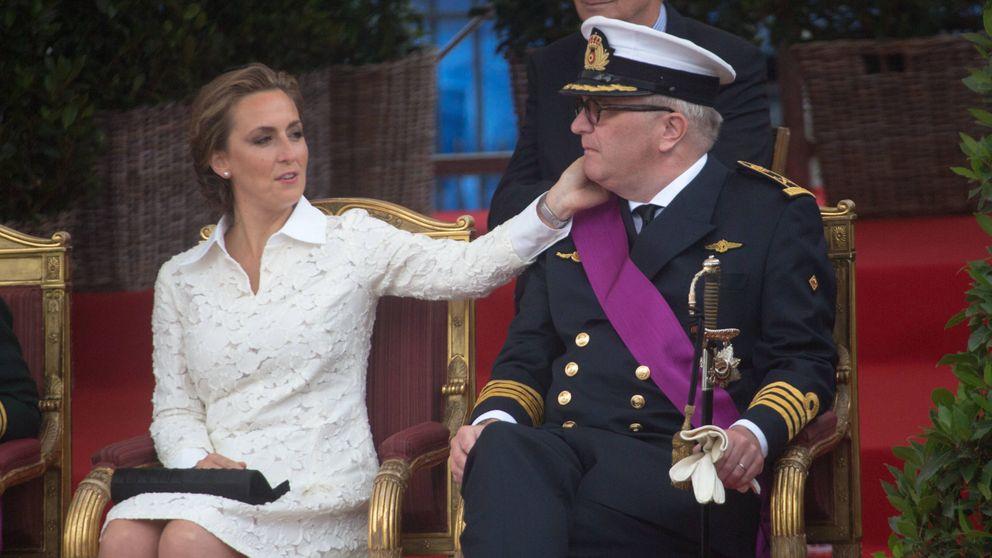 Claire de Bélgica, la mujer que soporta las rabietas del polémico príncipe Laurent