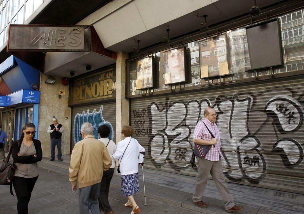 Foto: Los Renoir Cuatro Caminos cerraron el 1 de octubre (EFE)