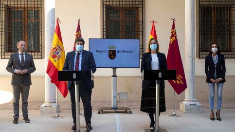 Toman posesión como consejeros del Gobierno de Murcia los tres tránsfugas de Cs