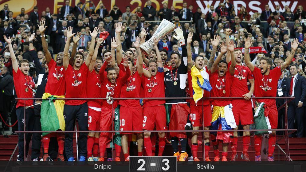 Foto: El Sevilla es más grande tras ganar su cuarto título de la Europa League