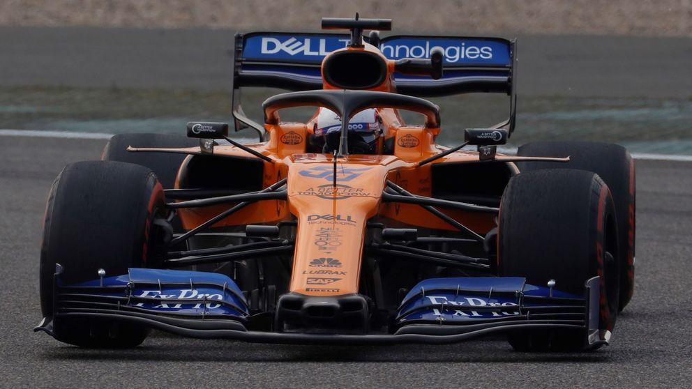Sainz y McLaren enseñan los dientes y amagan con otra sorpresa en Shanghái