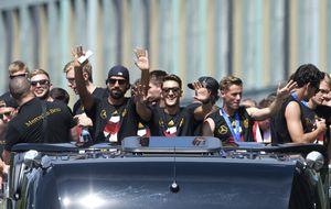 Alemania celebra su cuarto Mundial en Berlín