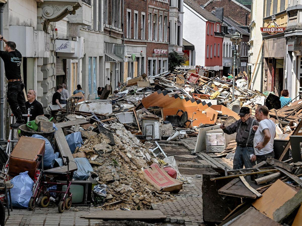 Foto: Los daños vinculados a la crisis climática se disparan en todo el planeta (EFE)