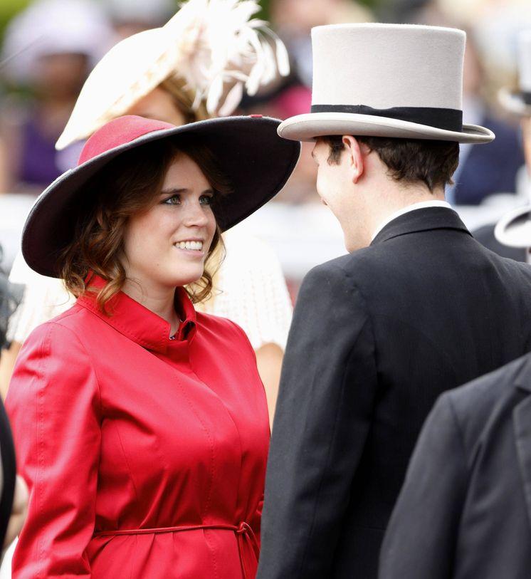 Foto: La princesa Eugenia y Jack Brooksbank. (Getty Images)