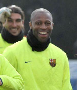 """Keita: """"Si estamos delante, es que lo estamos haciendo mejor que el Madrid"""""""
