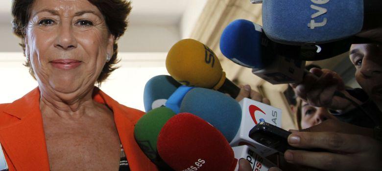 Foto: La exministra de Fomento y exconsejera andaluza de Economía, Magdalena Álvarez. (EFE)