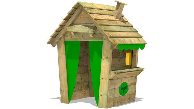 Casita de exterior de madera para niños Fatmoose