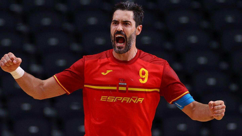 El capitán de la selección masculina de balonmano. (Reuters)