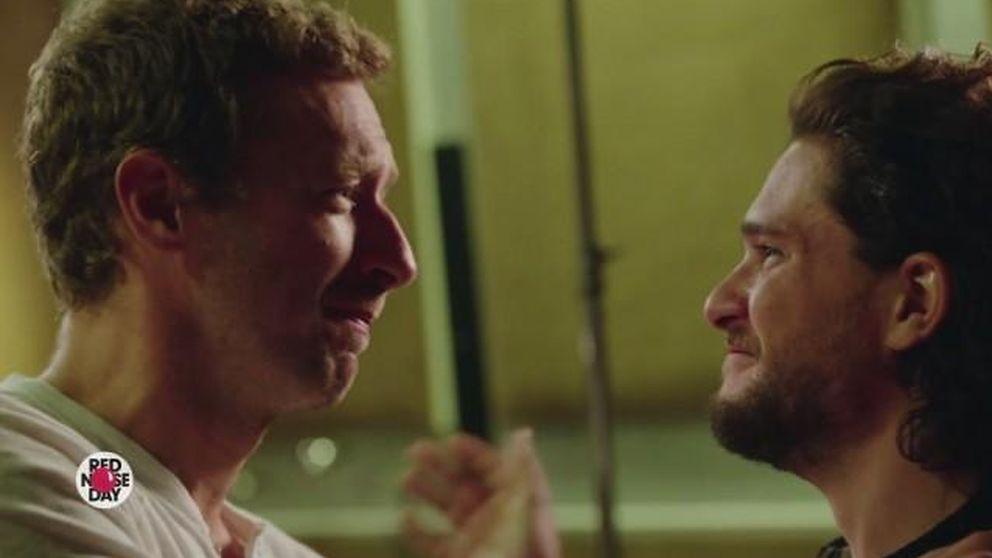 La parodia de Coldplay y los actores de 'Juego de tronos' por una buena causa