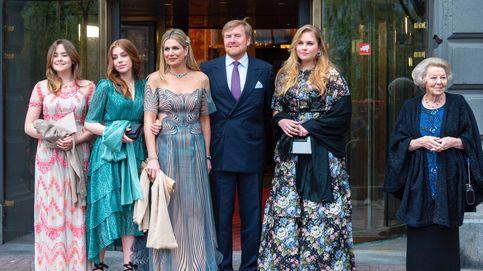 Máxima de Holanda, deslumbrante junto a sus hijas en la celebración de su 50 cumpleaños